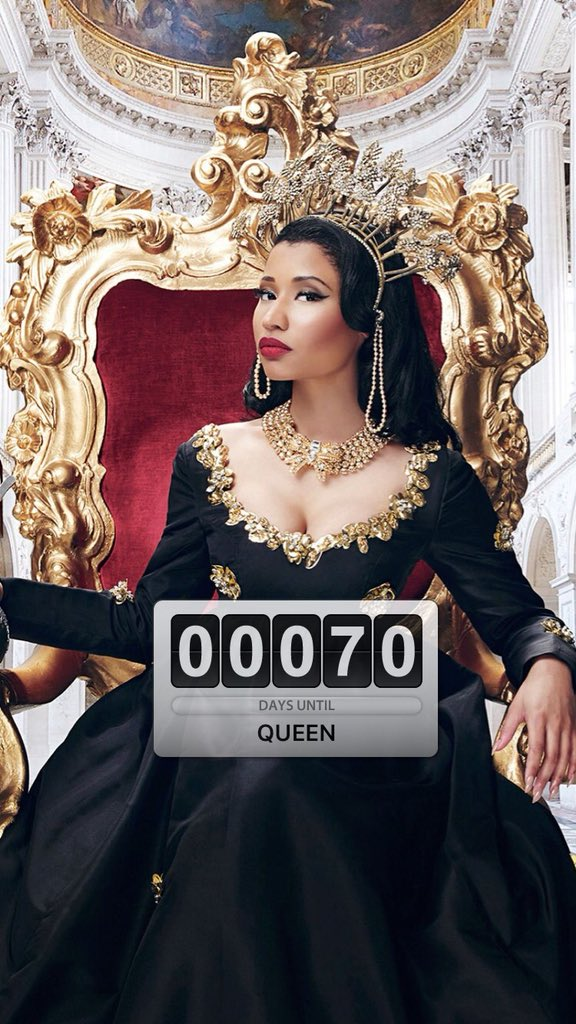 RT @vinc_maraj: @NICKIMINAJ 70 DAYS UNTIL #QUEEN ????♥️ https://t.co/h5zazLAHyR