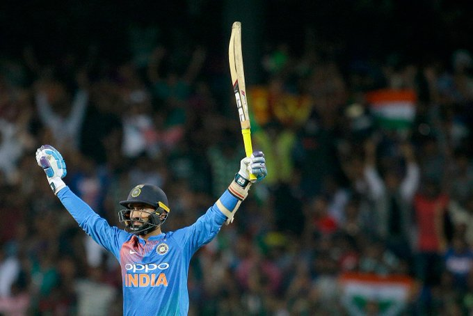 Happy birthday Dinesh Karthik!