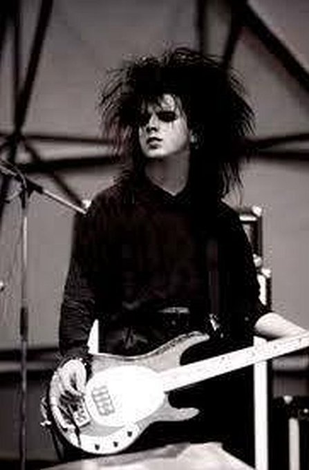 Happy Birthday to the true king of low slung bass (sorry Hooky) Mr Simon Gallup.