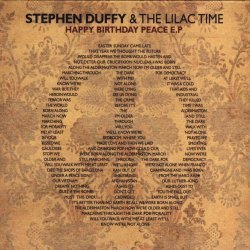 Stephen Duffy & The Lilac Time - Happy Birthday Peace (2008) [EP] -