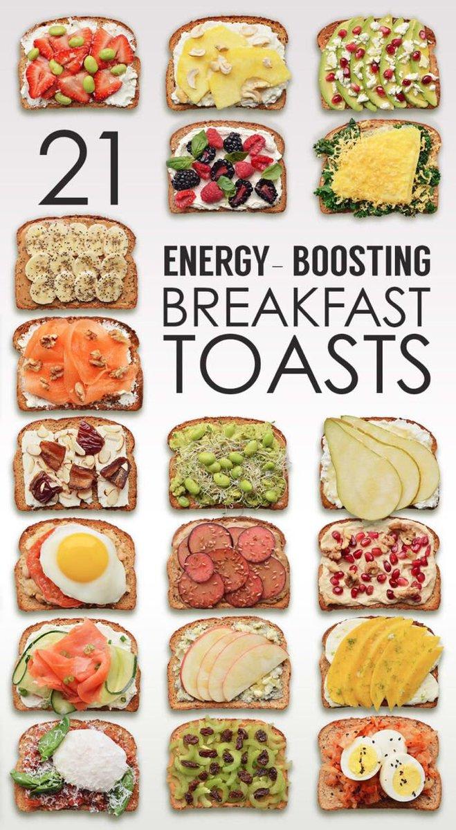 21 идея для быстрого и вкусного завтрака ???? Из серии: все гениальное просто????????♀! https://t.co/aWp7pLi1fN