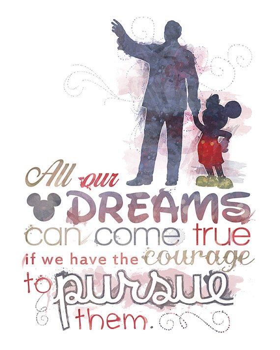 Все наши мечты могут сбыться, если у нас хватит мужества идти за ними???????? https://t.co/1v3BJxe3c5