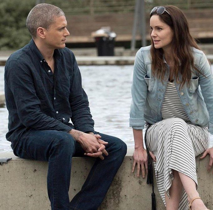 Happy Birthday to Sarah Wayne Callies and Wentworth Miller