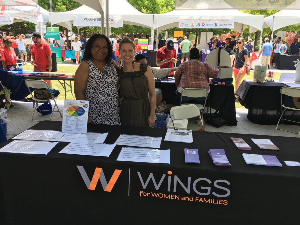 test Twitter Media - Wings is at Voly at @KlydeWarrenPark! We have a spending by color -game at table #107. We are looking for Financial Coach and facilitators! #volunteer https://t.co/fOsS69dv47