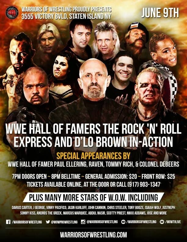 I have been added to make an appearance here on 6/9! Come see me again in Staten Island!! https://t.co/riGxMXoacw