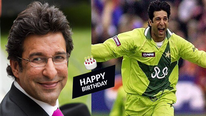 Happy Birthday to the Sultan of Swing, Wasim Akram.  ICC