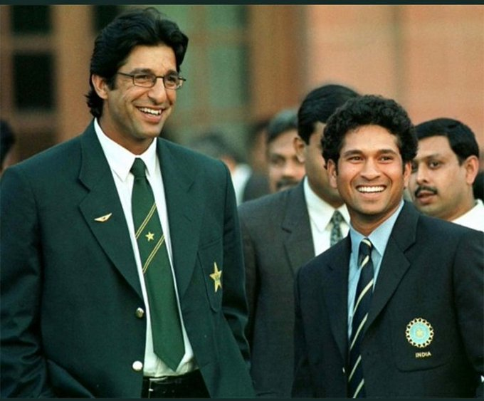 "Happy birthday swing king ..  ""Sachin Tendulkar is the toughest batsman I have bowled to\"" _ Wasim Akram.."