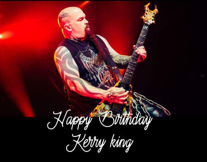 Happy Birthday to partner Kerry King.