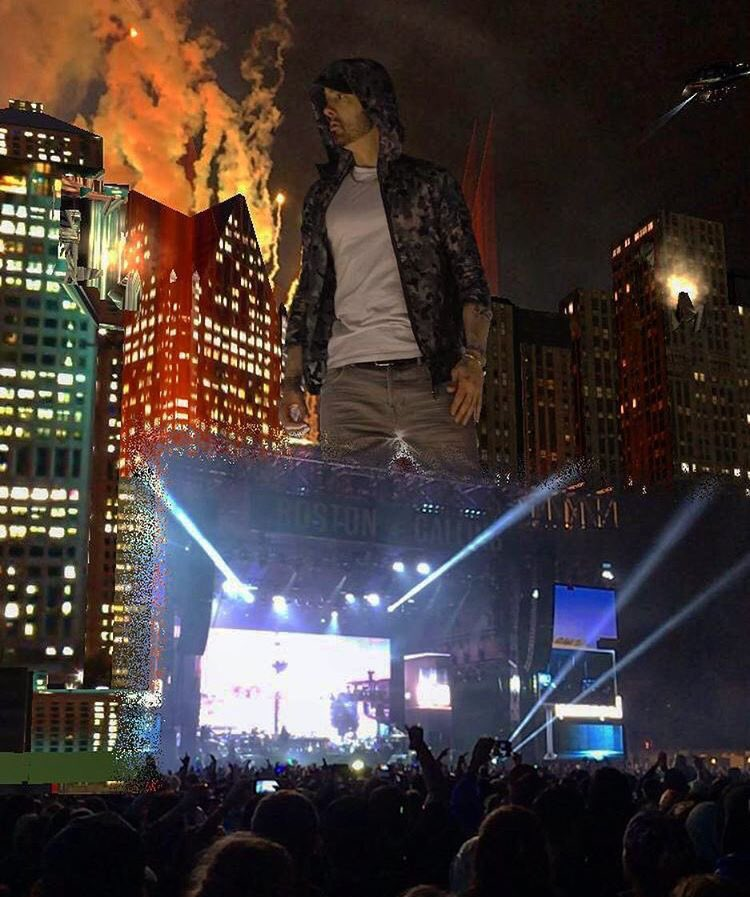 Dope shot by tyschu33! #EminemAugmented @GovBall - everything you need to know on the site https://t.co/6nB3TRlZcl https://t.co/yrhRL1FttM