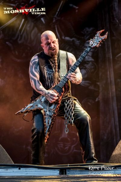 Happy birthday to the legend that is Kerry King - 54 today!  Photo by