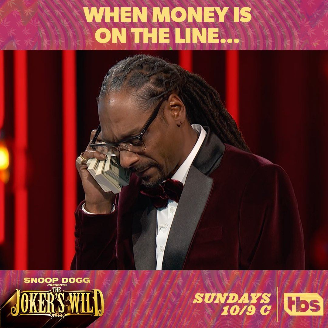 RT @michaelstrahan: Tonight!  Check out an all new @JokersWildTBS with my man @SnoopDogg!  @TBSNetwork #jokerswild https://t.co/uPI98lBwIc