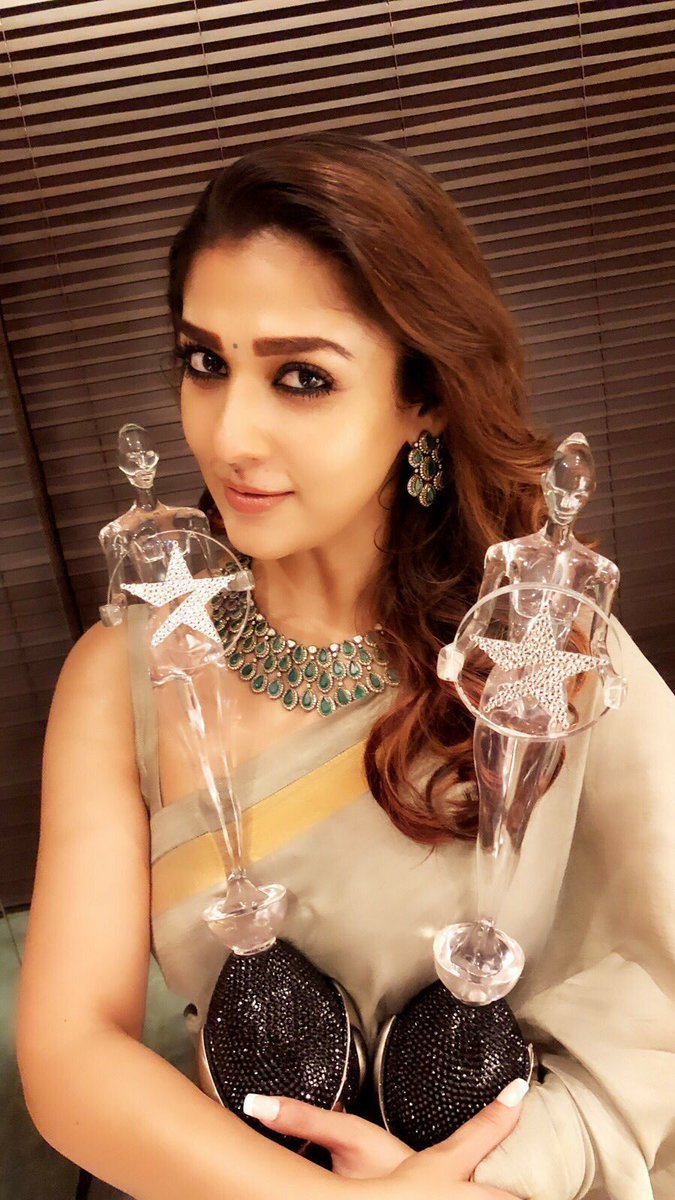RT @actorjenish: Congrats #Nayanthara 💐  #VijayAwards2018 https://t.co/Ad6jsvCK00