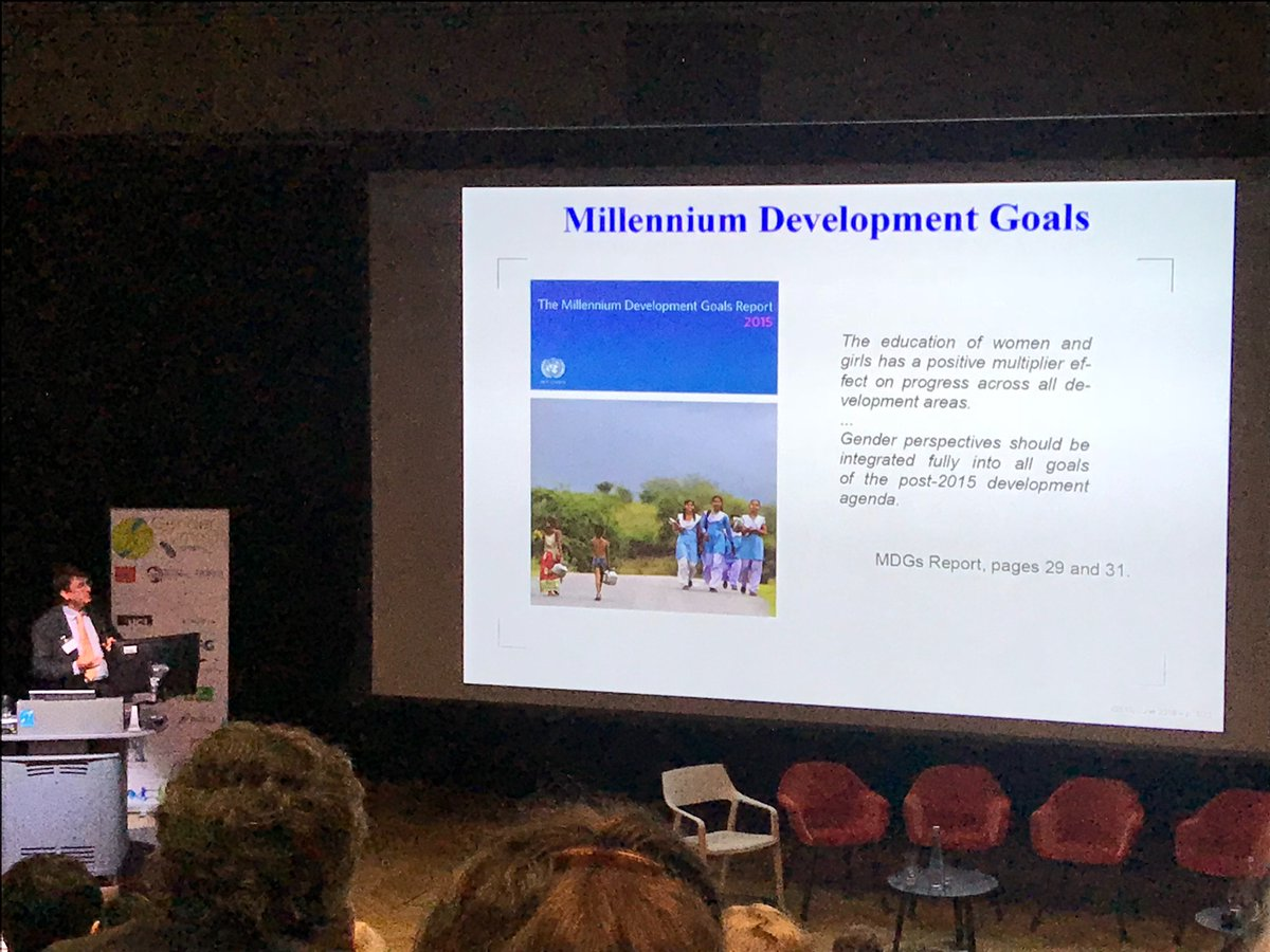 test Twitter Media - Jonathan Dawes from @UniofBath outs things into perspective through the Millennium Development Goals at #GS15 @gendersummit https://t.co/wW4dRZBhMp