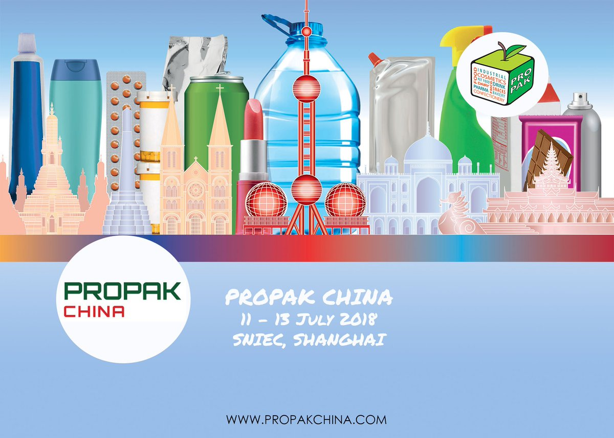 test Twitter Media - ProPak China returns for the 24th annual exhibition this July! Make sure you are there for China's premier processing and packaging show from 11 - 13 July at SNIEC, Shanghai #propakchina #propakchina2018 https://t.co/SXQ9PL14nj