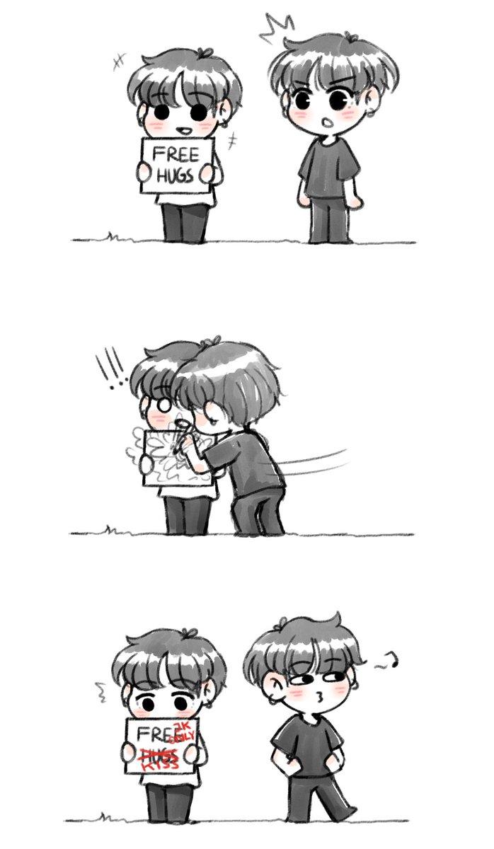 You gotta learn to share, Kook #jikook #kookmin #JIMIN #minjoon