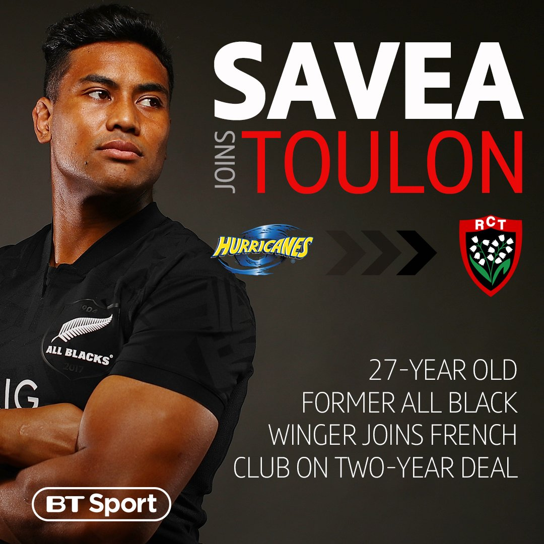 test Twitter Media - ⚫️ 54 All Black tests 🏉 46 Tries 8 tries in 6 World Cup matches 👏 Toulon have secured the services of Julian Savea who will join at the end of the Super Rugby season. https://t.co/m6UhnI4Ojr