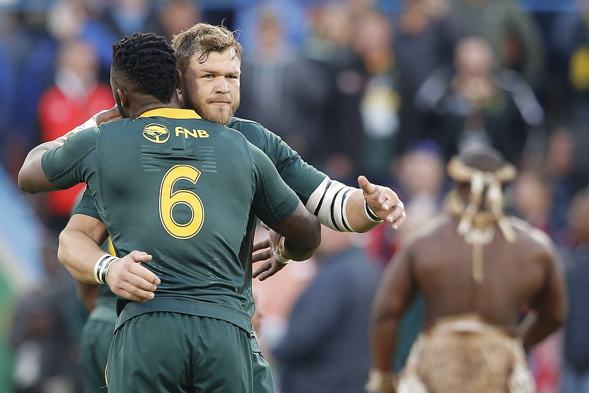 test Twitter Media - 🏉 FULL-TIME! 🏉 South Africa emerge convincing winners in Bloemfontein, beating England 23-12 after the visitors had led 12-0 inside the first 13 minutes. Reaction is on Sky Sports Main Event, Action and on our blog here: https://t.co/G0GEanNaKY https://t.co/Uawdw88RZS