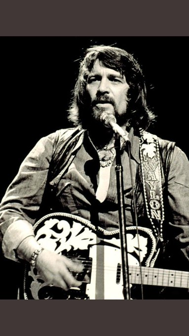 Happy Birthday to the fuckin\ man, Waylon Jennings