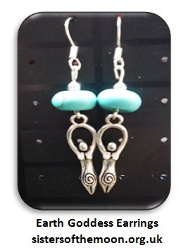 #Earth #Goddess/Spiral Goddess earrings with #turquoise https://t.co/TP56aq7g8T  #UKHashtags #paganjewellery https://t.co/UVtLGmTLFa