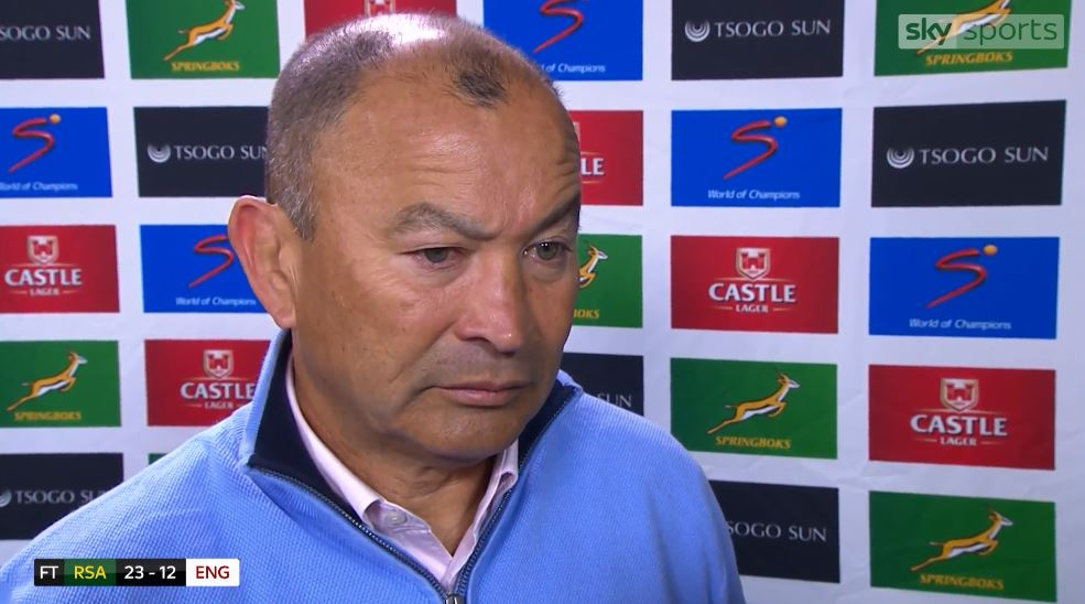 test Twitter Media - WATCH: Eddie Jones says everyone in the England camp is hurting after they fell to yet another Test defeat. https://t.co/4EbgrS4I6J https://t.co/GQPAATu6jG