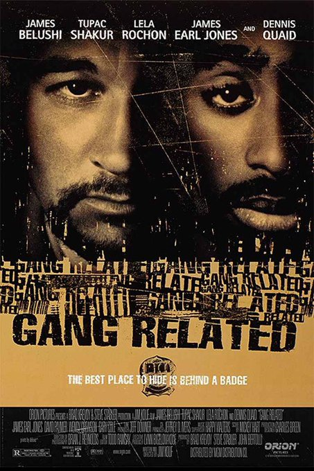 Happy Birthday, Tupac. Very good, very underrated...which describes Jim Belushi, too.