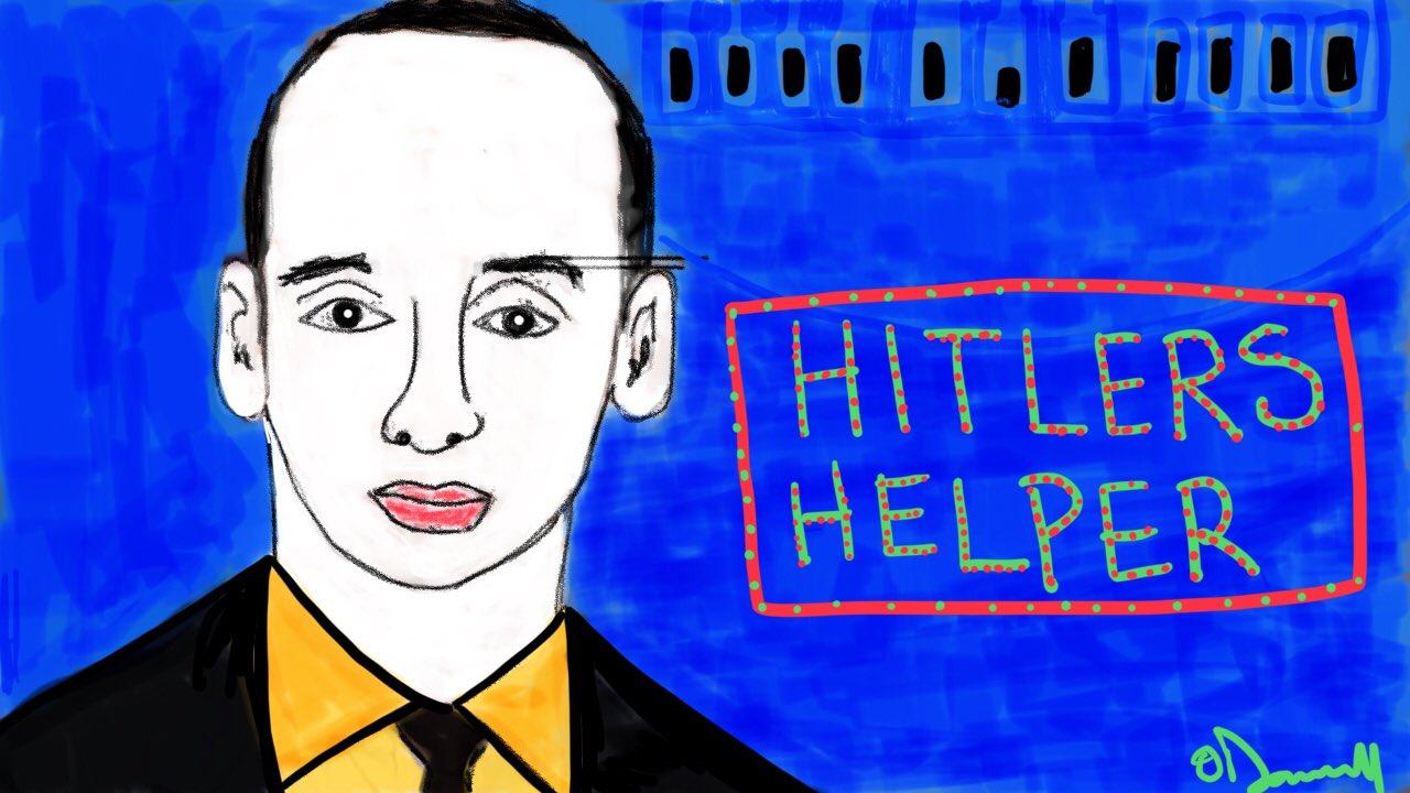 Miller u sick creepy man ... go 2 hell #TrumpConcentrationCamps https://t.co/QzCf8Xpsx1
