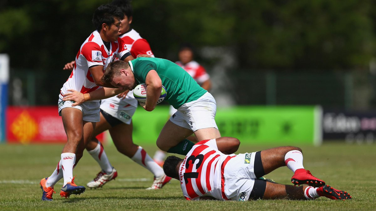 test Twitter Media - FT: @IrishRugby secure their position in next year's tournament with a 39 -33 win over @JRFURugby #WorldRugbyU20s https://t.co/54jNBX6K4C