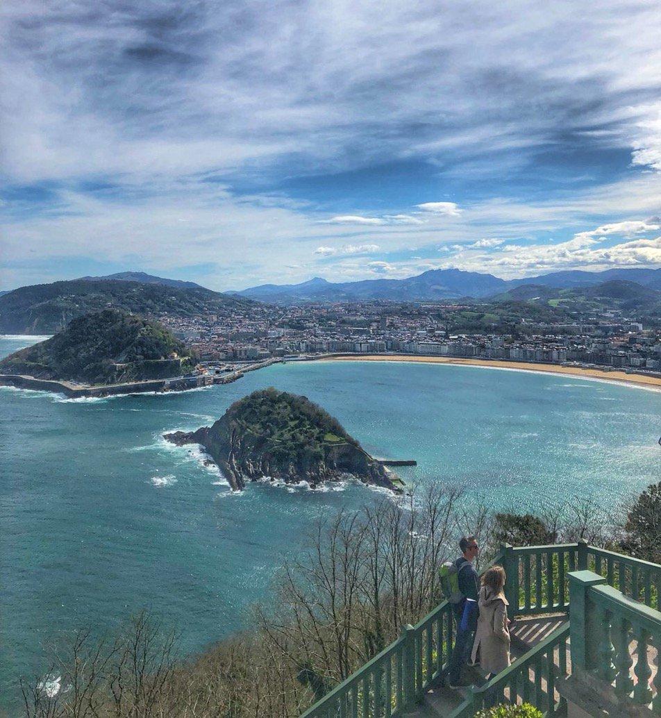 🔺🔺 #LasMejoresFotos de la semana . Donostia / San Sebastián . Por @SistersCity https://t.co/aF1ST0qbqa