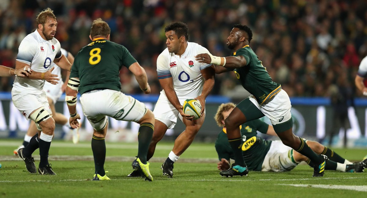 test Twitter Media - Saracens have today confirmed that Billy Vunipola has withdrawn from the England squad after re-fracturing his arm against South Africa in the second test. https://t.co/yzIdfFxbNe
