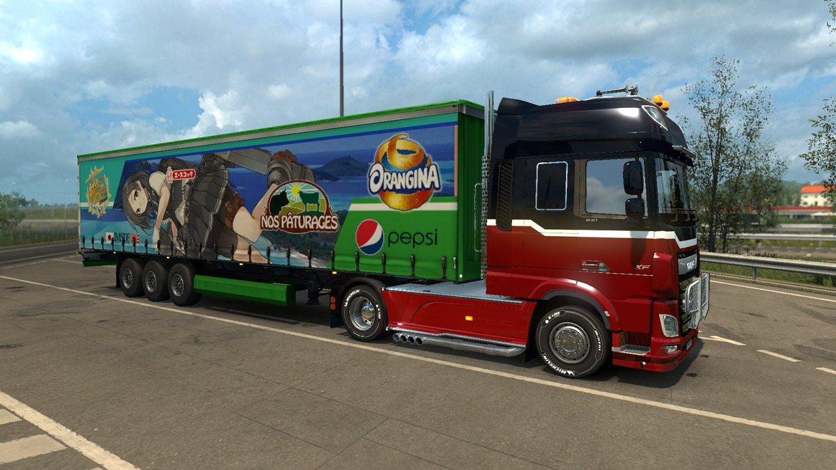 【自動ツイート】 Euro Truck Simulator 2 #ETS2jp #艦これ 艦これMOD Ver??? 黒潮改二Ver2.00  https://t.co/e0dhq5DdGc