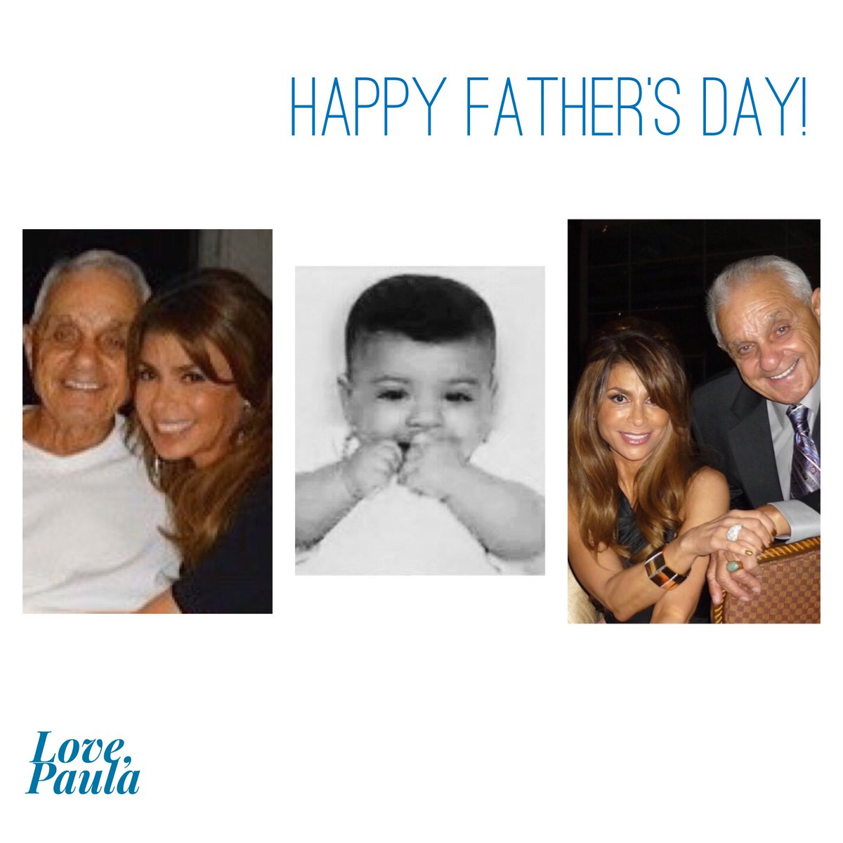 Yep. I'm a Daddy's Girl, through and through! Happy Father's day to all you dads! Sending love! xoP  ???? #FathersDay https://t.co/CknYMJzqLW
