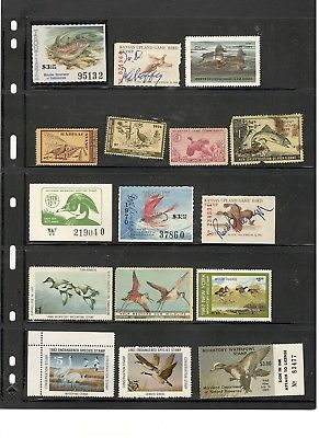eBay: US STATE HUNTING AND FISHING LICENSE STAMP COLLECTION https://t.co/yHIa9PZS9M https://t.co/7PxGdHjjzS