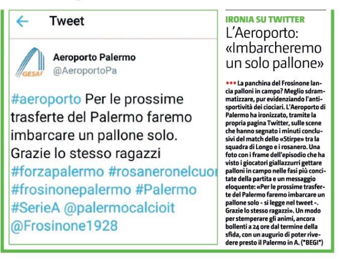 #FrosinonePalermo