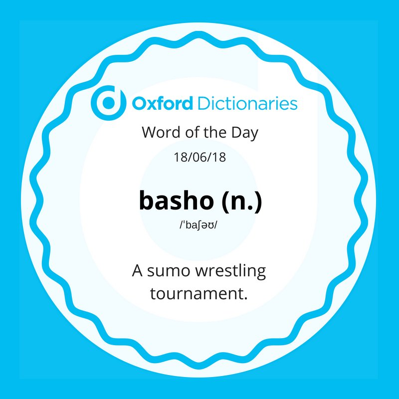 test Twitter Media - Word of the Day: basho https://t.co/uon14YZ5k3 https://t.co/KjI1P4GDMh