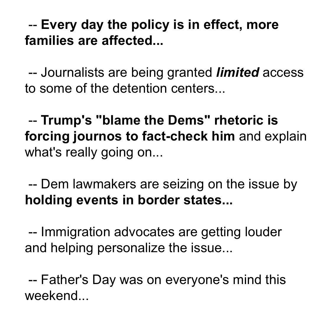 The border story is getting bigger by the day. Here are some of the reasons why... https://t.co/cSW2GVmRAa https://t.co/OYAXLVvlz8