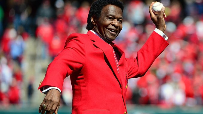 Happy 79th Birthday, Lou Brock!