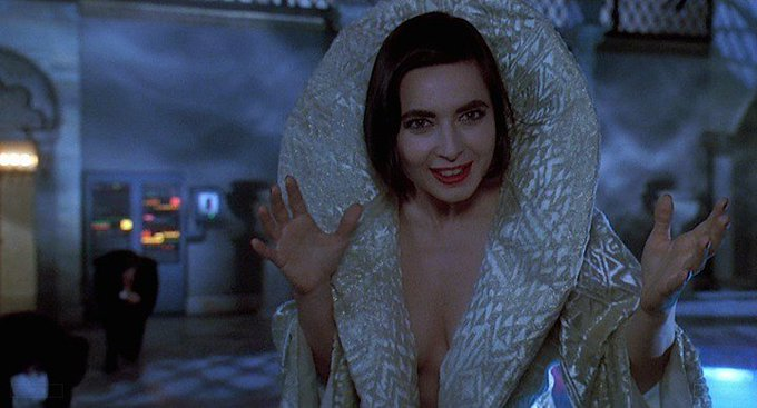 Happy Birthday to Isabella Rossellini who turns 66 today! Name the movie of this shot. 5 min to answer!