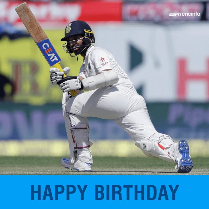 A happy 30th birthday to Ajinkya Rahane! Which is your favourite Rahane innings?