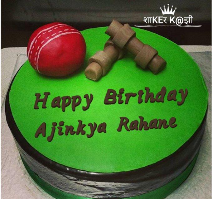 Happy Birthday Ajinkya Rahane