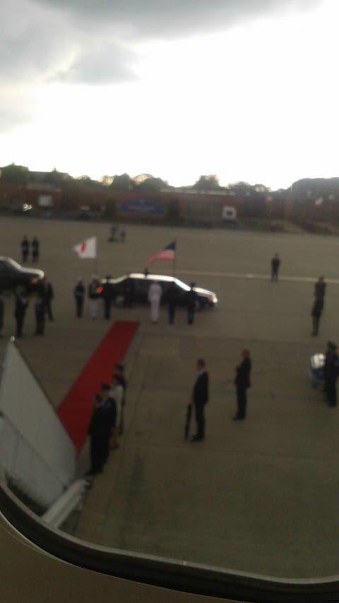 RT @AbeShinzo: ワシントンに到着しました。こちらは夕刻。明日日米首脳会談です。 https://t.co/avdsPkfvFG