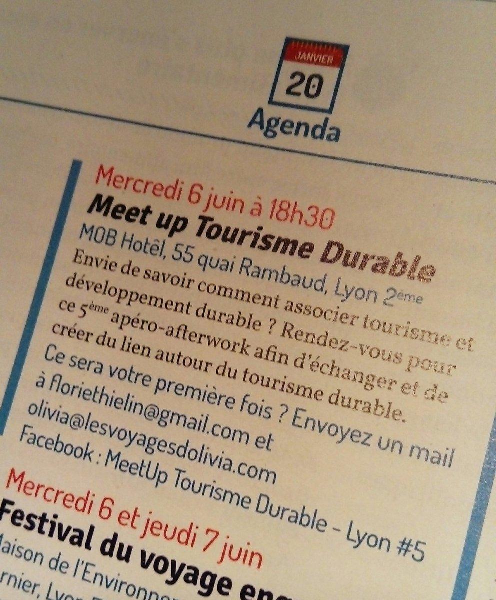 #TourismeDurable