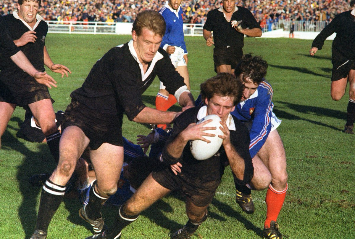test Twitter Media - On this day in 1987... New Zealand lifted the first ever Rugby World Cup trophy with a 29-9 win over France at Eden Park 🏆 https://t.co/5lGcQ4BroX