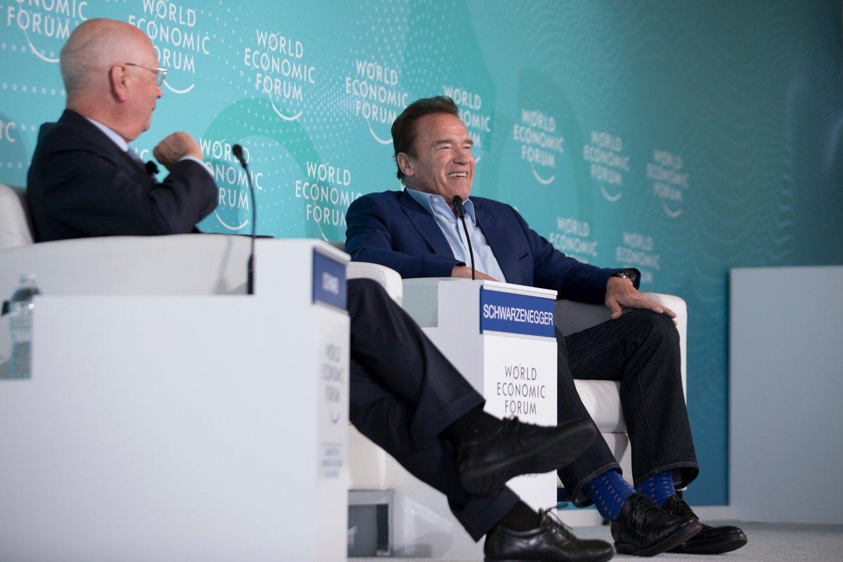 RT @wef: Arnold @Schwarzenegger is taking over our Instagram story. Watch here: https://t.co/vZqBjKt5QT https://t.co/swP5oaL1vD