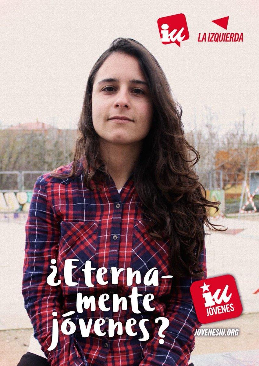 "RT @IUsanildefonso: ""¿Eternamente jóvenes?"" campaña de Jóvenes deIU. https://t.co/nttrOj3PhX https://t.co/8Vg2NxnYgK"