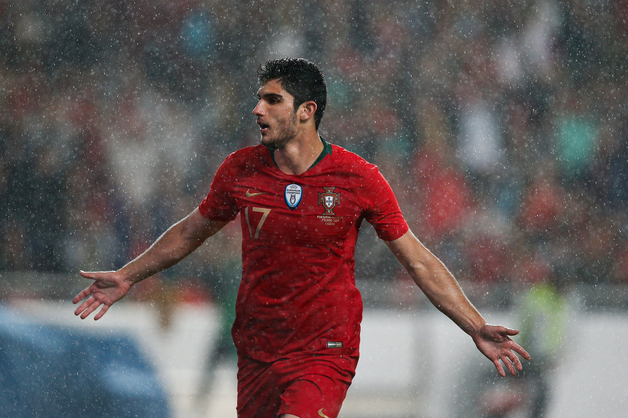 ���� Gonçalo Guedes ⚽️⚽️  A #UCL star in 2018/19? �� https://t.co/d2tJro658C