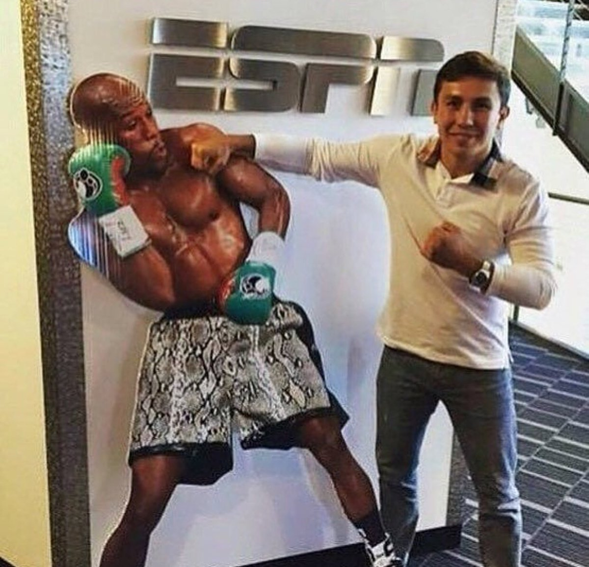 Lol GGG Ready for a big fight, ???? https://t.co/vaM1MkdgOT