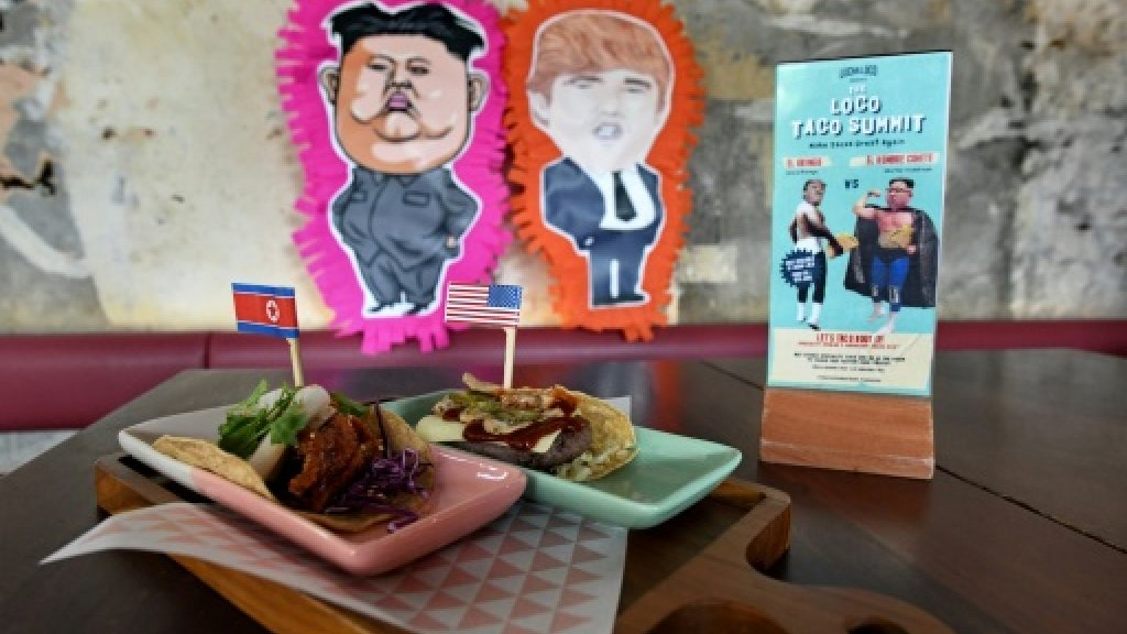 Trump-Kim creations on the menu as Singapore chefs mark summit