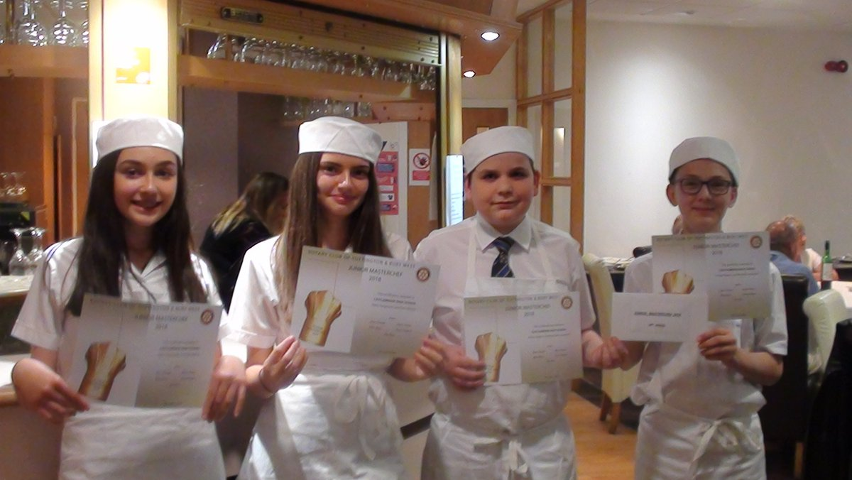 test Twitter Media - Junior Masterchef 2018 - Finlay and Marshall 2nd place.  Katie and Evie got the award for the best dessert! #masterchefsofthefuture https://t.co/Z3KdII8gQC