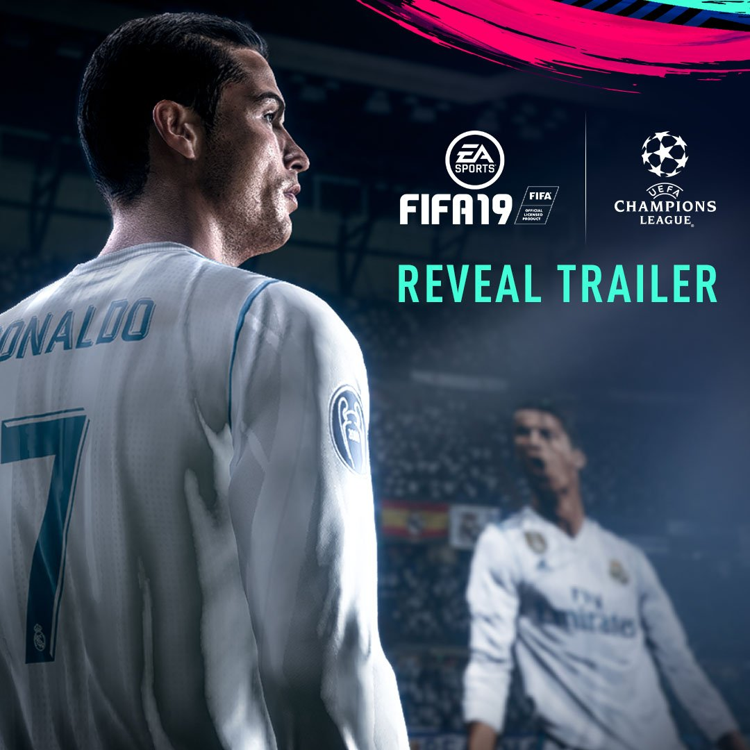 Guess who's back on the cover of @EASPORTSFIFA! ???? #FIFA19 #ChampionsRise ????⚽️???? https://t.co/7jb1euX5Fu