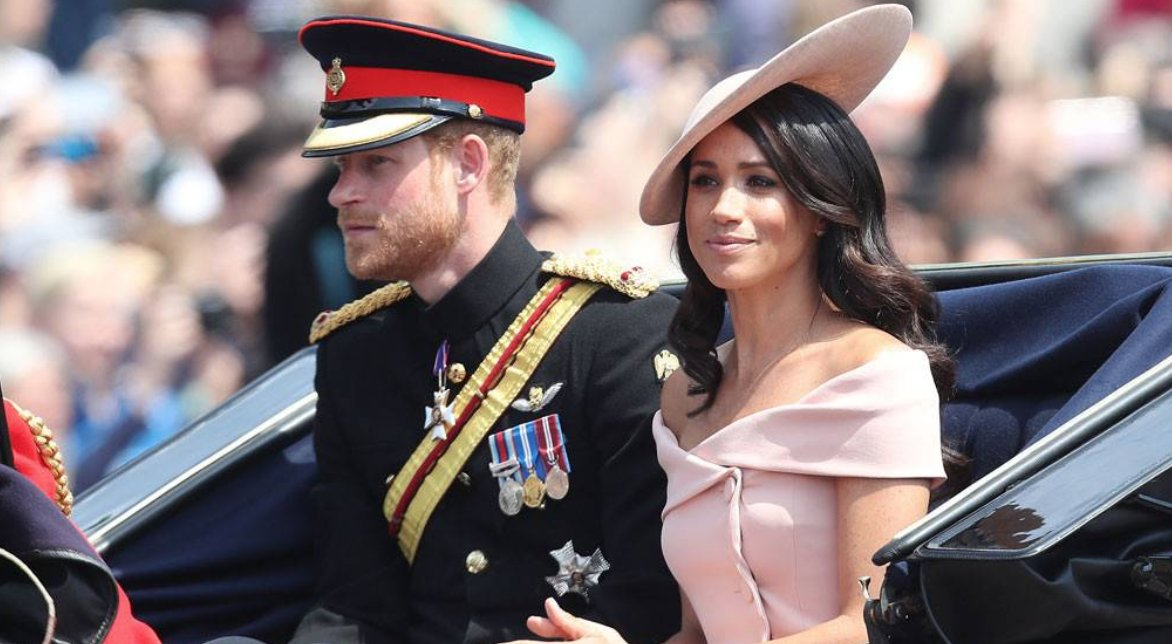Introducing: The newlyweds, the Duke and Duchess of Sussex. ?